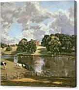 Wivenhoe Park Canvas Print