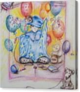 Wizard Boy Canvas Print