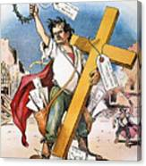 W.j. Bryan: Cross Of Gold Canvas Print