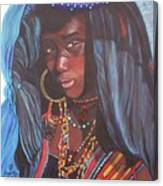 Virtuous Wodaabe Girl          From The Attitude Girls  Canvas Print