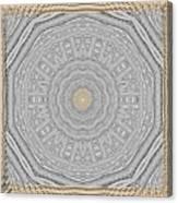 Wodden Sacred Popart Canvas Print