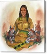 Wolf Clan Mother Canvas Print