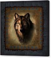 Wolf Lodge Canvas Print