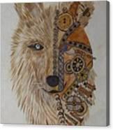 Wolf Machine Canvas Print