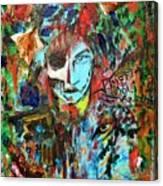 Wolfey Me Canvas Print