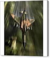 Wolfhound Rhino Canvas Print