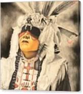 Wolfs Hat Canvas Print