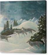 Wolfspirit Canvas Print