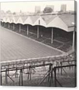Wolverhampton - Molineux - Molineux Street Stand 1- Bw - Leitch - September 1968 Canvas Print