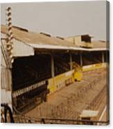 Wolverhampton - Molineux - Waterloo Road Stand 2 - Leitch - 1970s Canvas Print