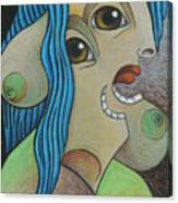 Woman 2001 Canvas Print