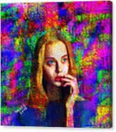 Woman 378 Canvas Print