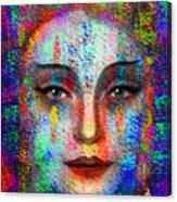 Woman 395 Canvas Print
