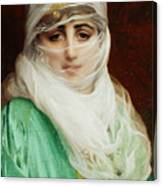 Woman From Constantinople Canvas Print