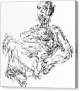 Woman In Repose 4483 Canvas Print