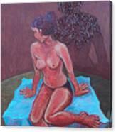 Woman Vi Canvas Print