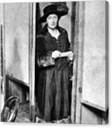 Woman: Voting, 1920 Canvas Print