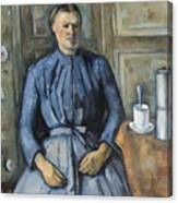 Woman With A Coffeepot  Canvas Print