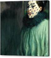 Woman With A Veil Canvas Print