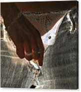 Women Body - The Light Beyond Canvas Print