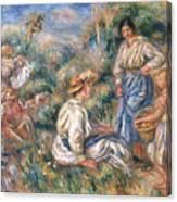 Women In A Landscape Canvas Print