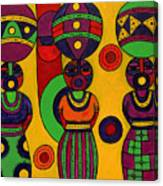Women With Calabashes II Canvas Print