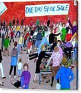Women's Club Canvas Print