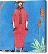 Womens Fashion, George Barbier, 1921 Canvas Print