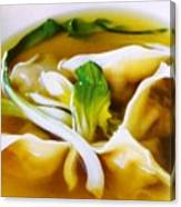 Won Ton Canvas Print