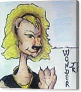Wonder Jr Canvas Print