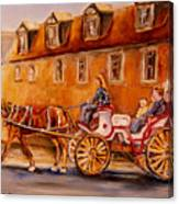 Wonderful Carriage Ride Canvas Print