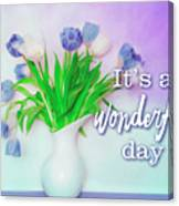 Wonderful Day Canvas Print