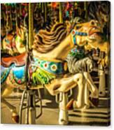 Wonderful Horse Ride Canvas Print
