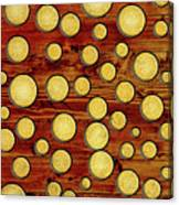 Wood And Gold Canvas Print