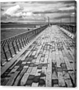 Wood And Pier Canvas Print