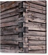 Wood Walls Canvas Print