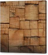 Woodblocks Canvas Print