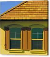 Woodbury Windows No 2 Canvas Print