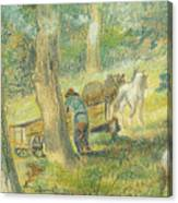 Woodcutters Canvas Print