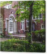 Wooded Manor Canvas Print