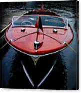 Wooden Boat Canvas Print
