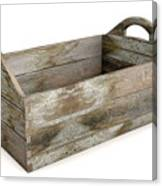 Wooden Carry Crate Canvas Print