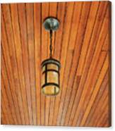 Wooden Ceiling Canvas Print