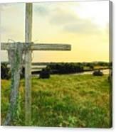 Wooden Cross 1 Canvas Print