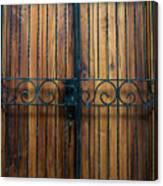 Wooden Door 2 Canvas Print