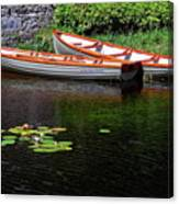 Wooden Rowboats Canvas Print