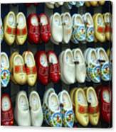 Wooden Shoes Canvas Print