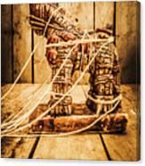 Wooden Trojan Horse Canvas Print