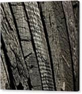 Wooden Water Wheel Canvas Print