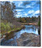 Woodhull Creek In May Canvas Print